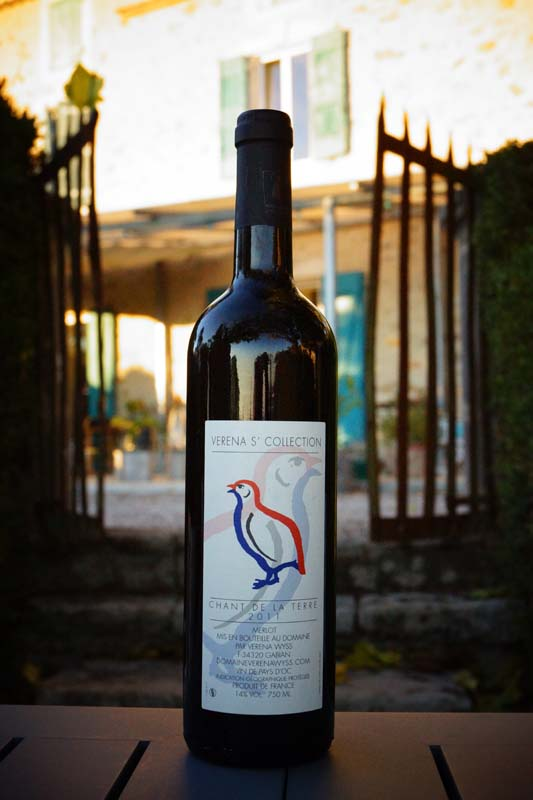 Bien Temperature Conservation Vin Rouge #4: Stunning Vin Rouge Languedoc Igp Chant De La Terre With Temperature Vin  Rouge